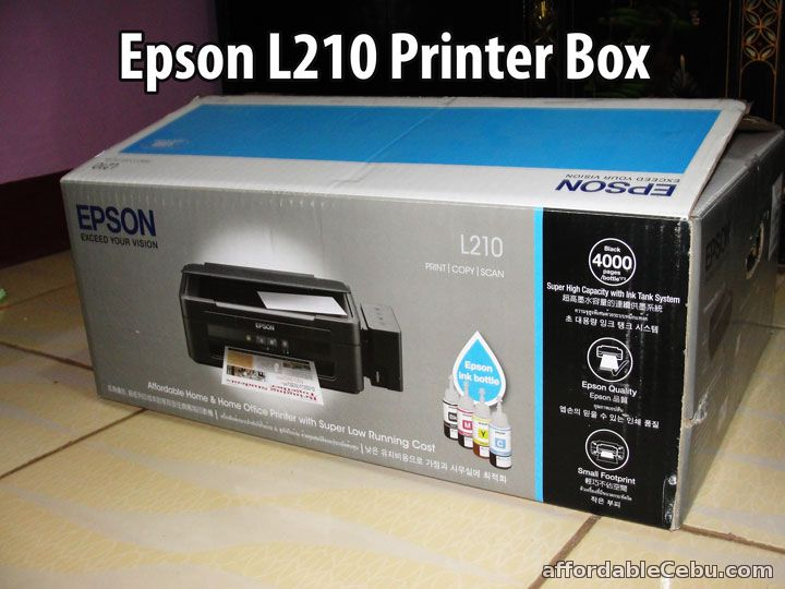 Cara Menginstal Driver Printer Epson L210